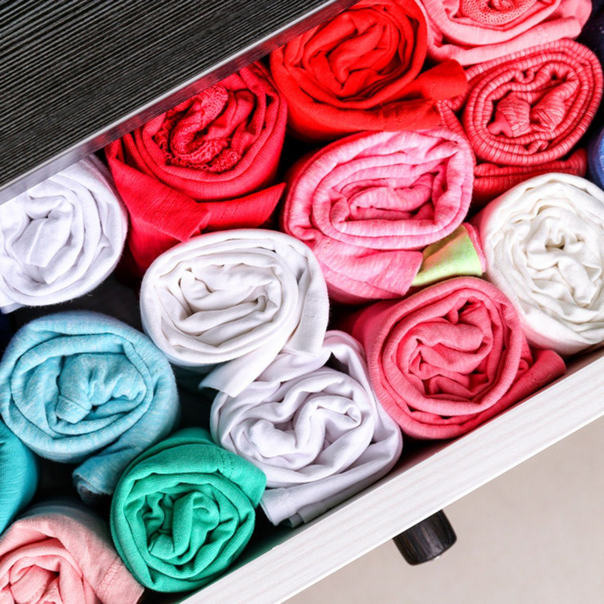 Chest of drawers with multicolored kid's clothes; Shutterstock ID 637013131; Job (TFH, TOH, RD, BNB, CWM, CM): Taste of Home