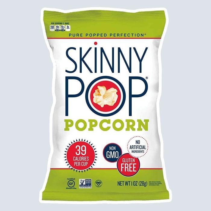 Skinny Pop gluten free popcorn