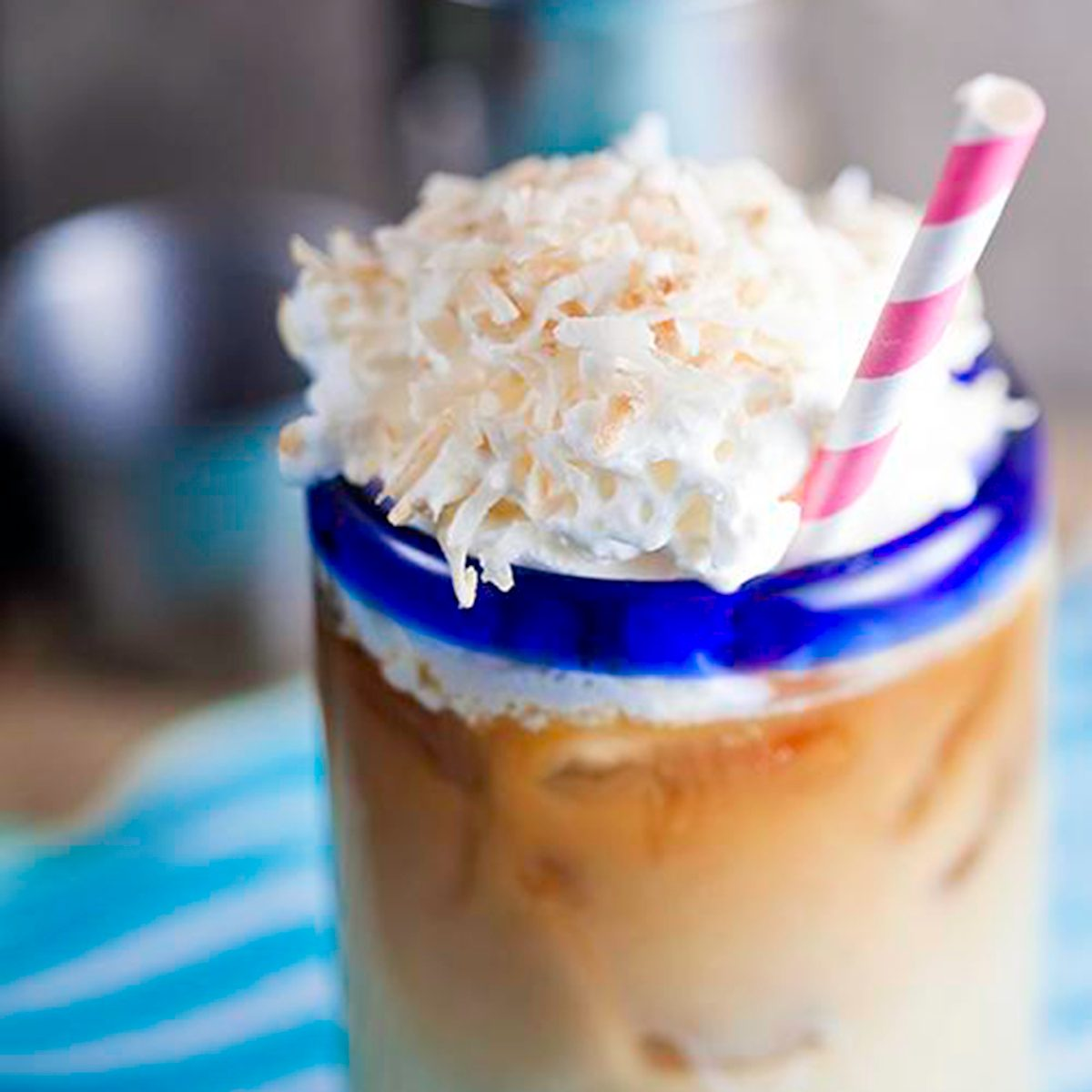 Spiked coconut coffee