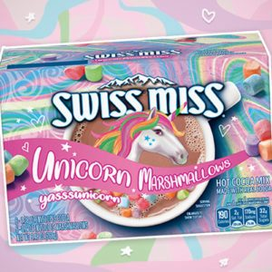 Swiss Miss Is Definitely Making Unicorn Hot Chocolate