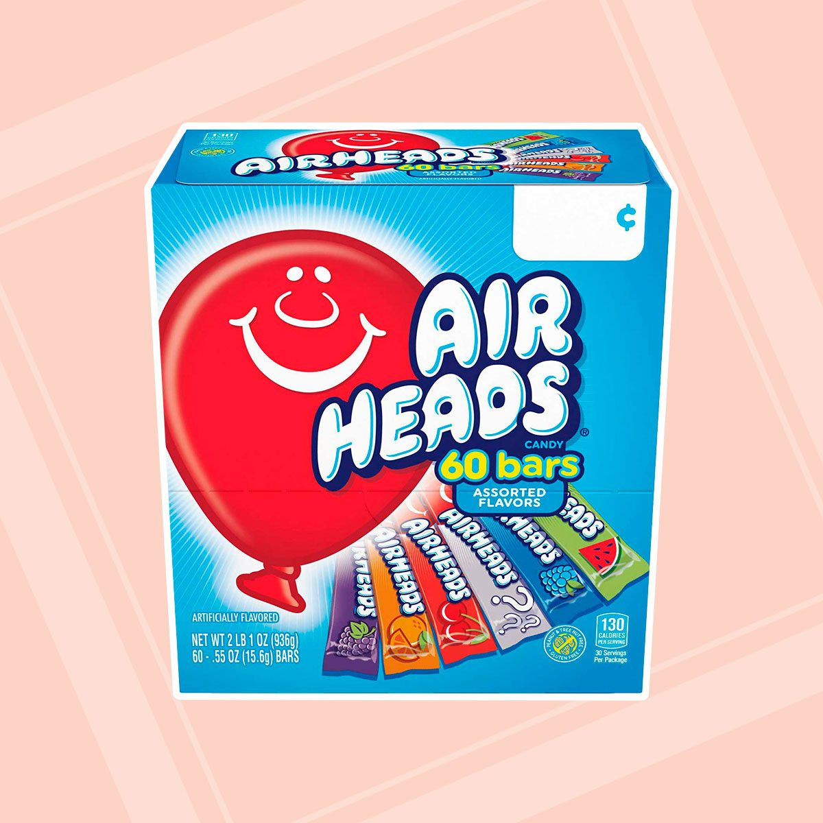 Airheads Full-Size Taffy Bars