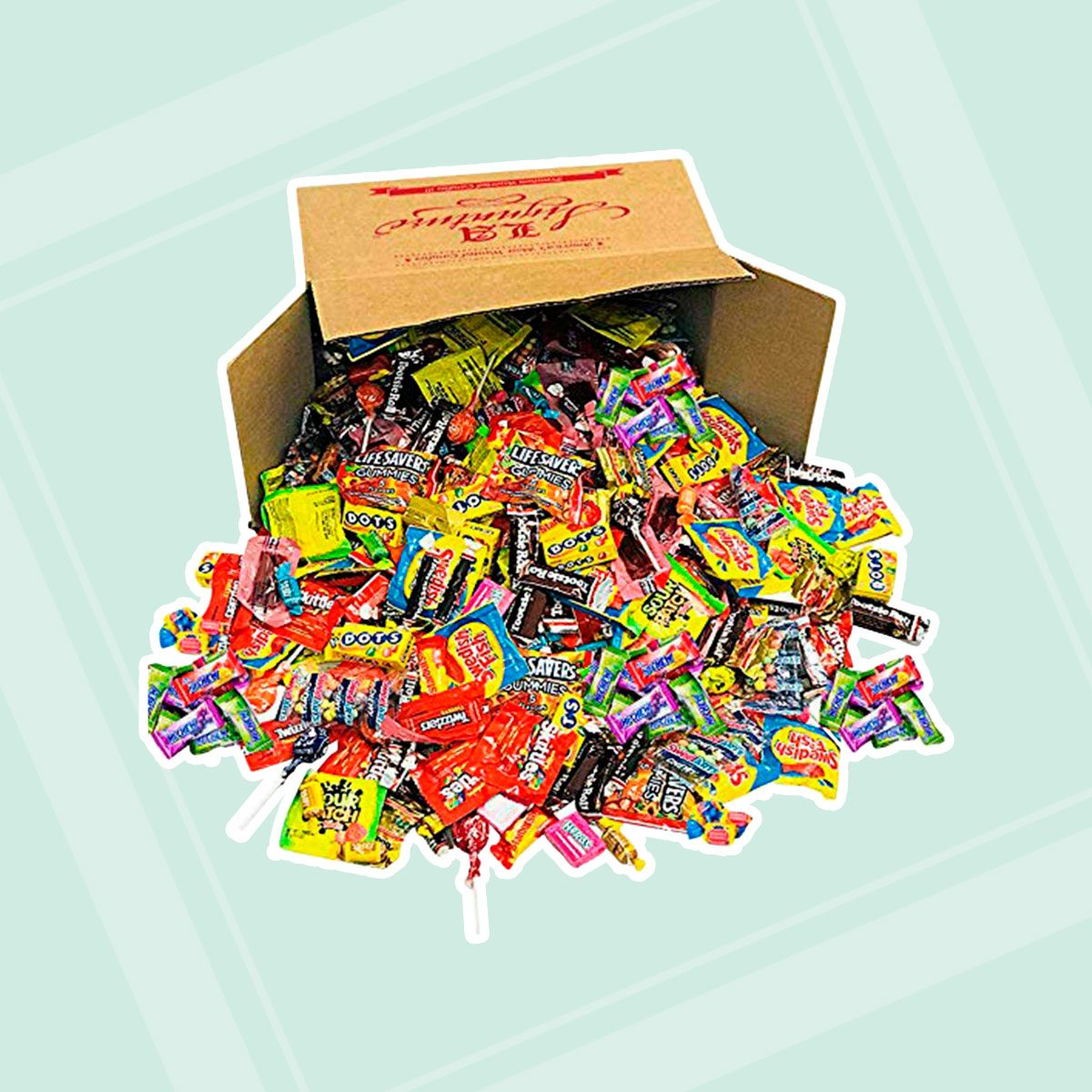 Assorted candy mix box