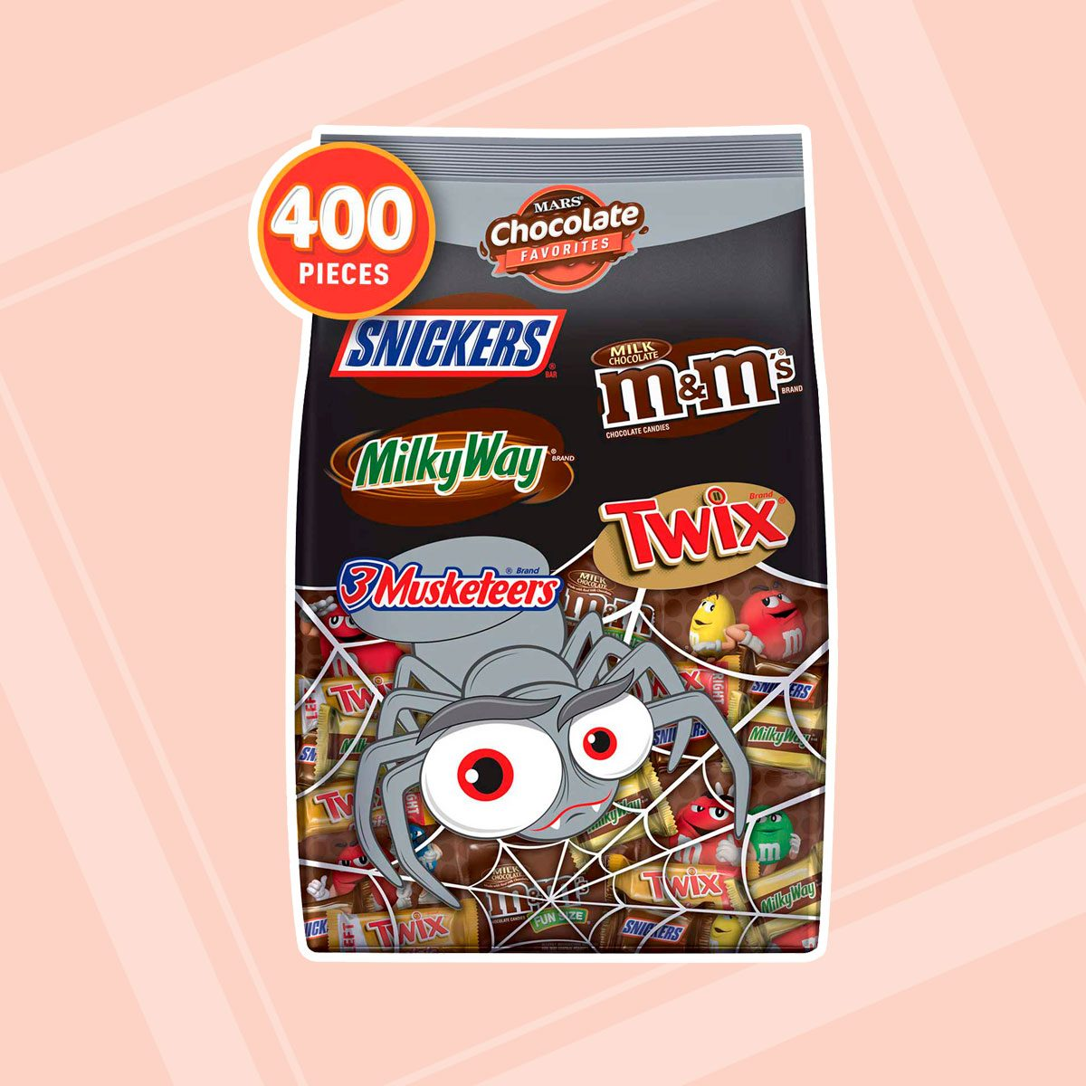 Mars Chocolate Favorites Halloween Candy Bars variety mix bag