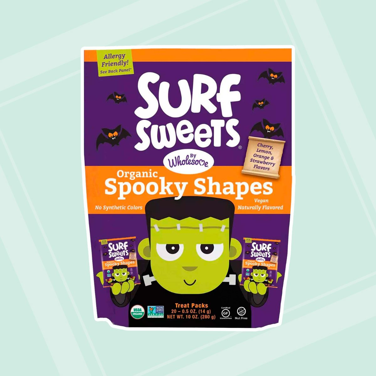 Surf Sweets Organic Halloween Spooky Shapes