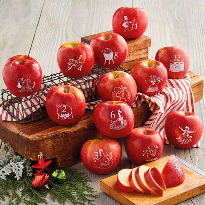 12 days of christmas apples