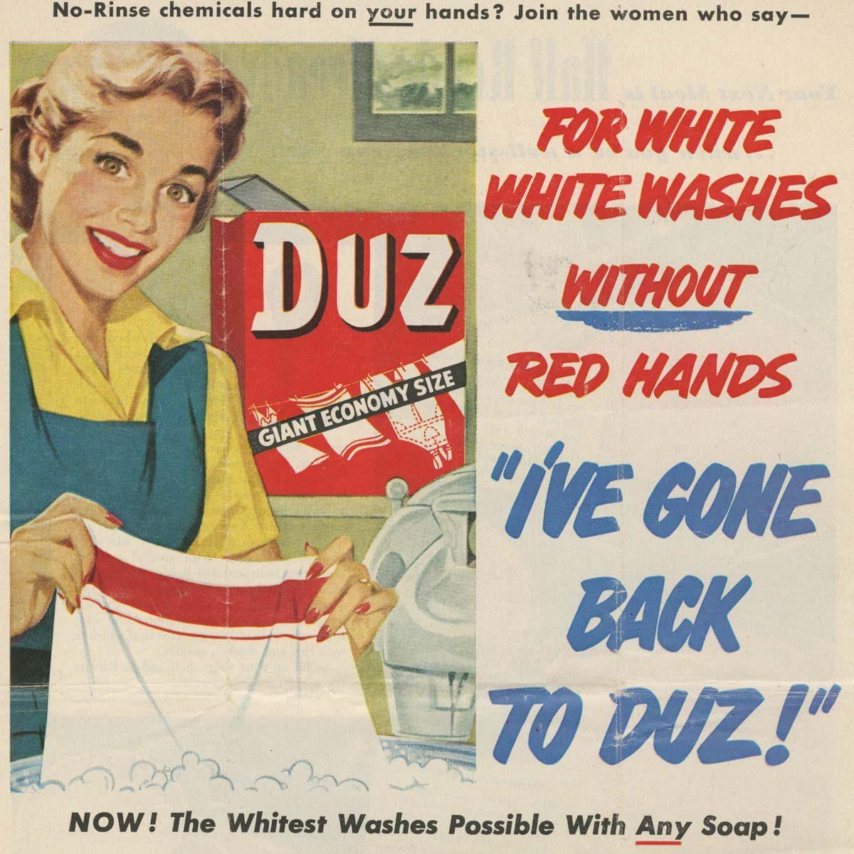 Duz vintage laundry soap