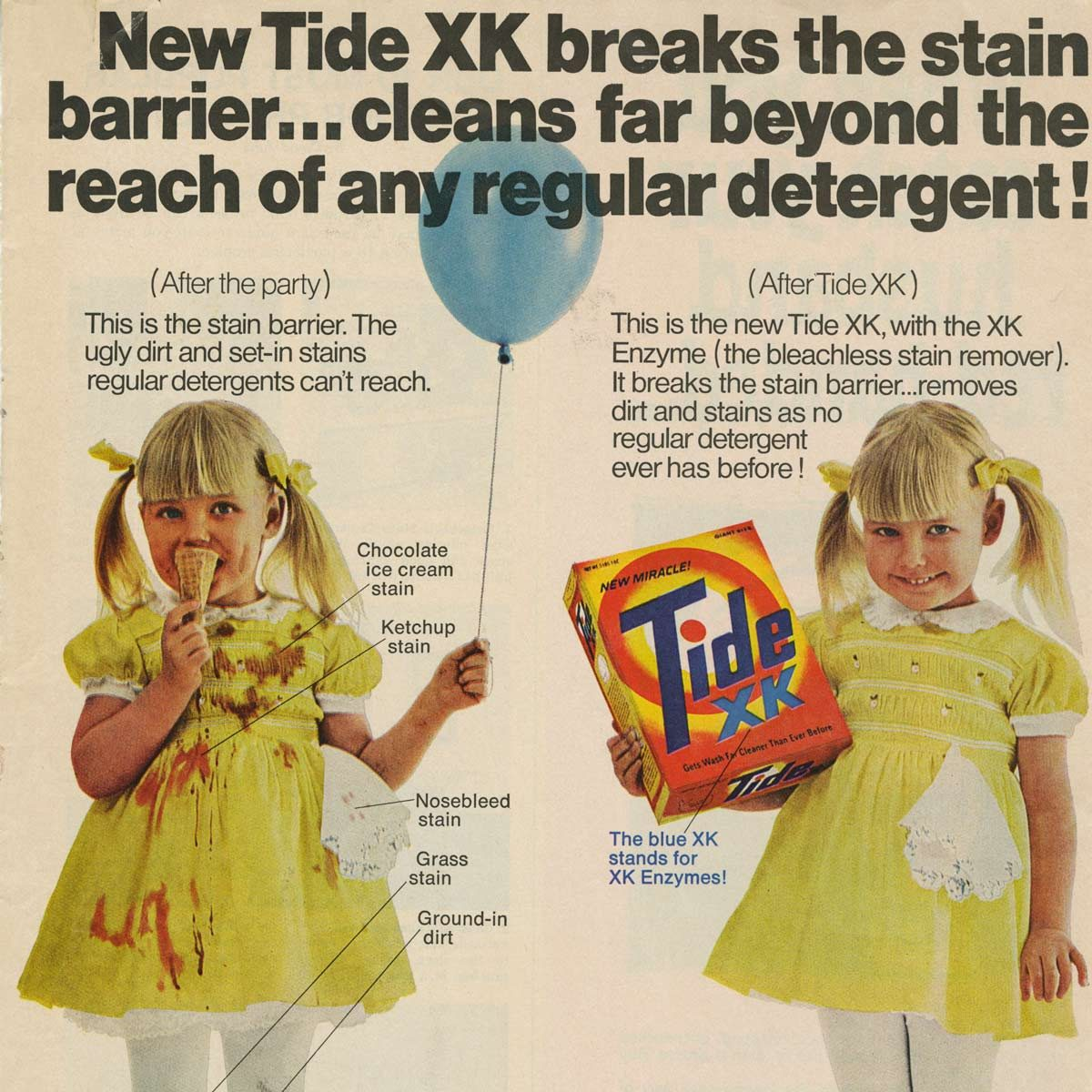 Vintage Tide Laundry Detergent ad