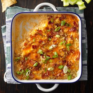 Bacon Buffalo Chicken Dip