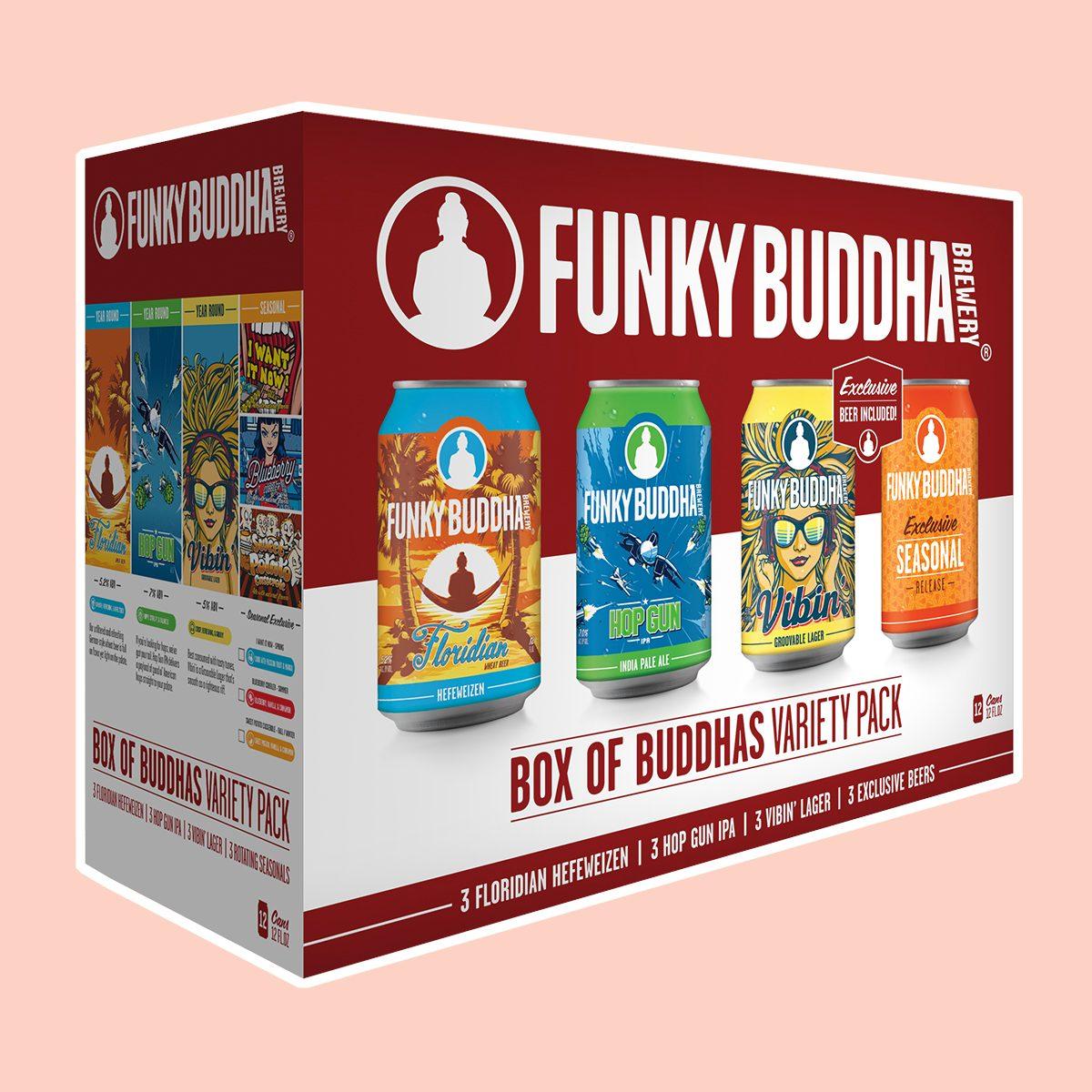 Funky Buddha Box Of Buddhas Variety Pack