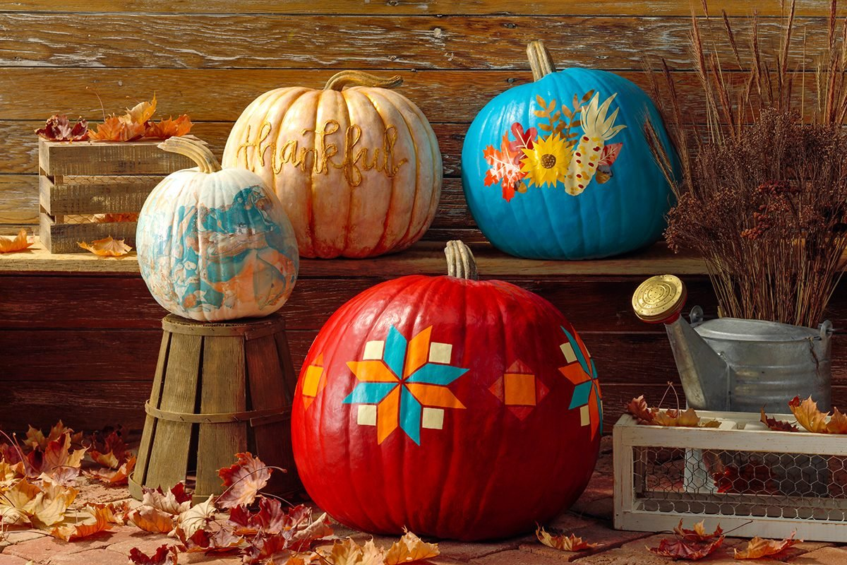 7 Pumpkin Painting Ideas You Have to Try This Year