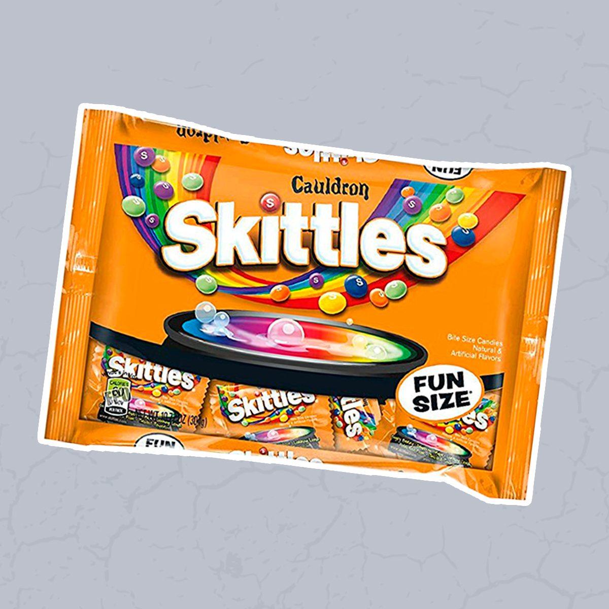 Skittles Cauldron Halloween Fun Size - 10.72oz / 20ct
