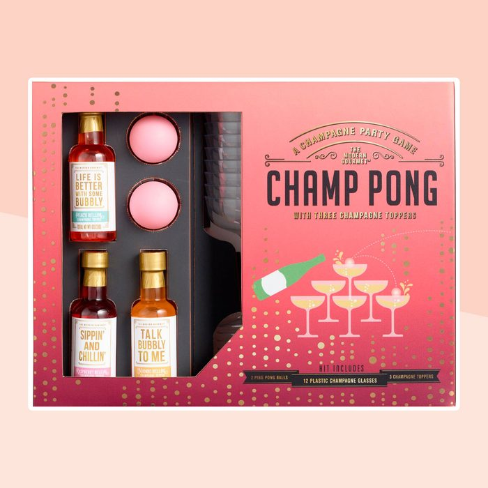Champ Pong Drinking Game