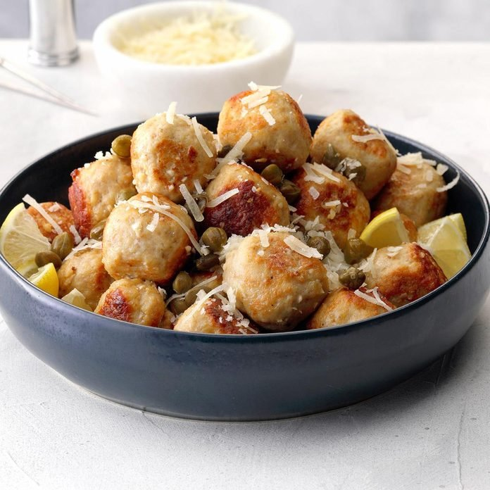 Chicken Piccata Meatballs Exps Tohdj20 236310 B08 01 6b 8
