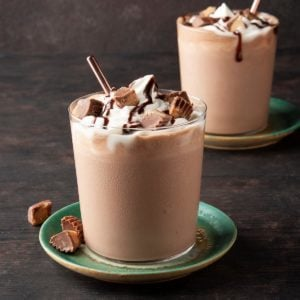 Chocolate Peanut Butter Shakes
