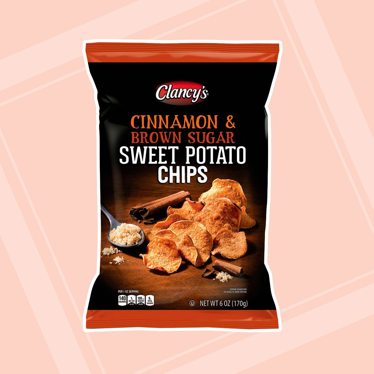 Cinnamon & Brown Sugar Sweet Potato Chips