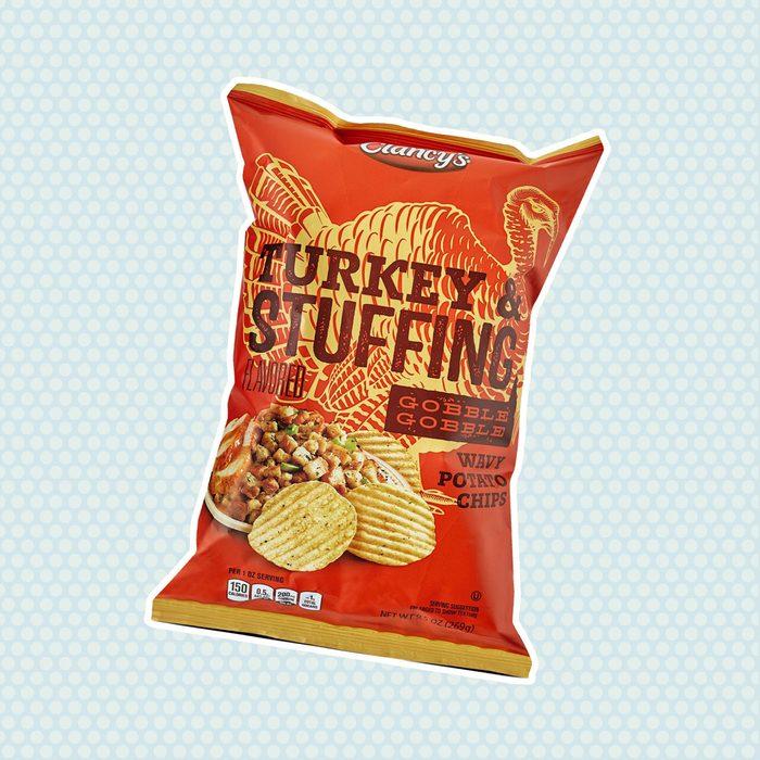 Clancy's Turkey & Stuffing Wavy Potato Chips