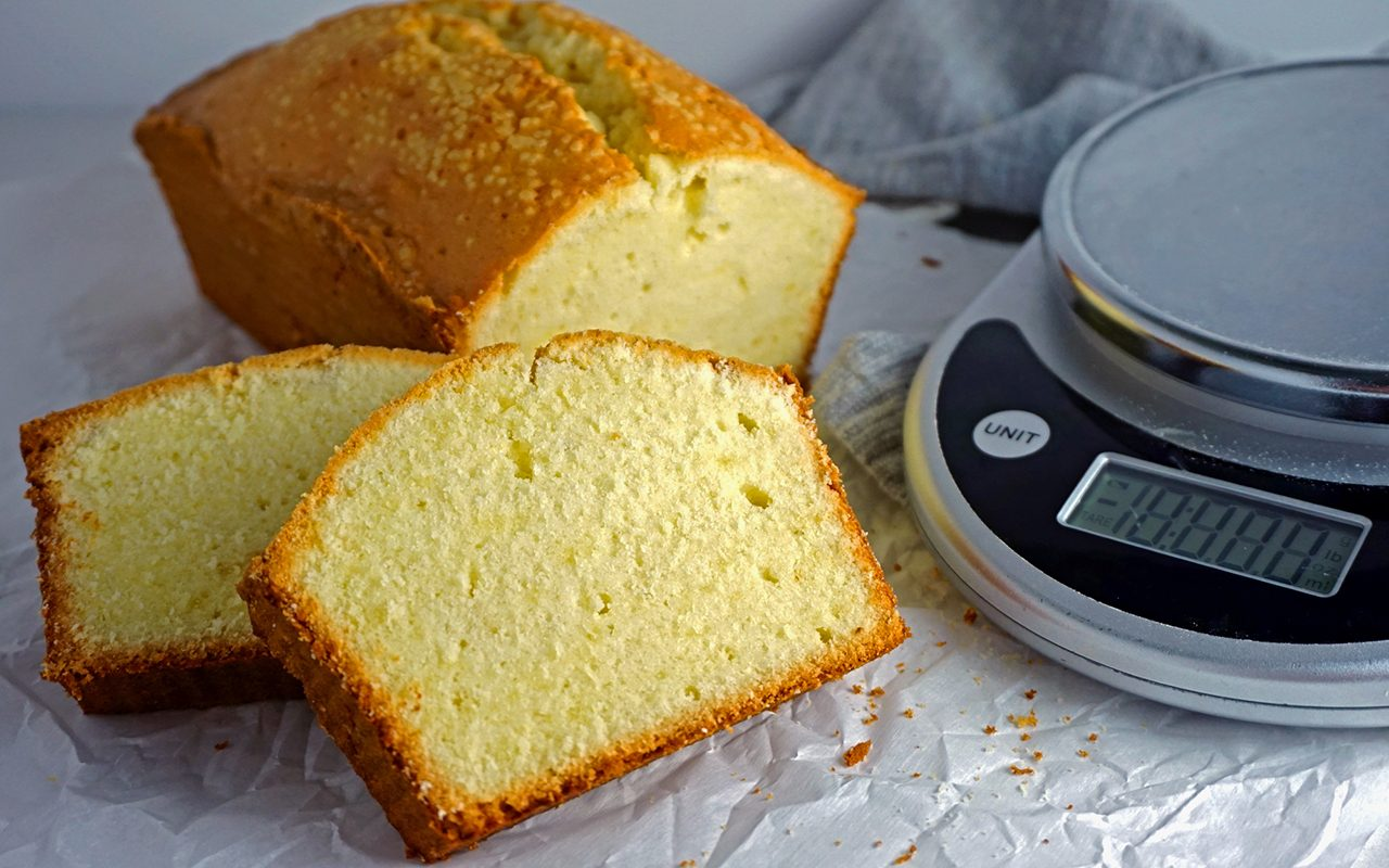 We Made the Original Old-Fashioned Pound Cake Recipe. Here's What Happened