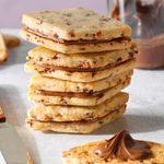 Cranberry Nutella Sandwich Cookies