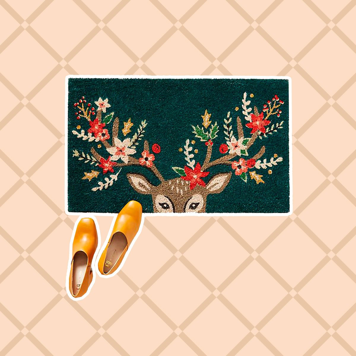 Deer Doormat