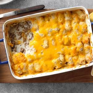 Ranch Tater Tot Bake