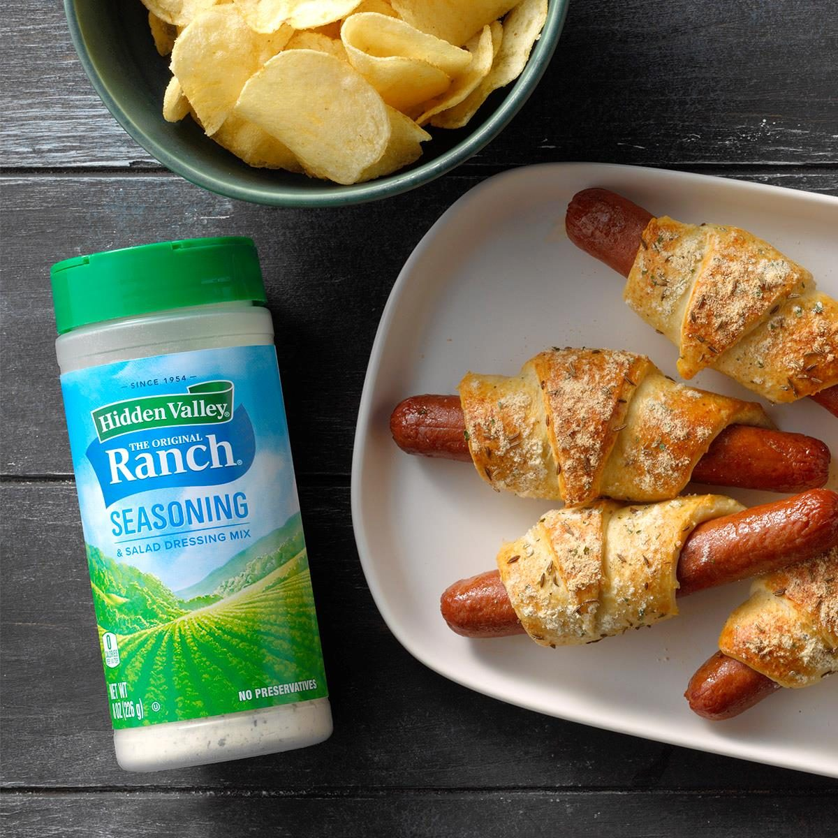 Ranch Pigs in a Blanket
