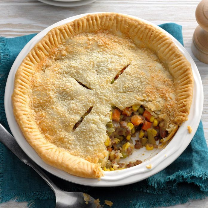Quick and Easy Vegetable Pot Pie