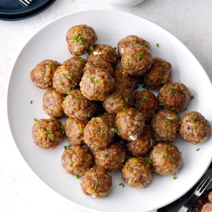 Runner-Up: Fig and Goat Cheese Meatballs