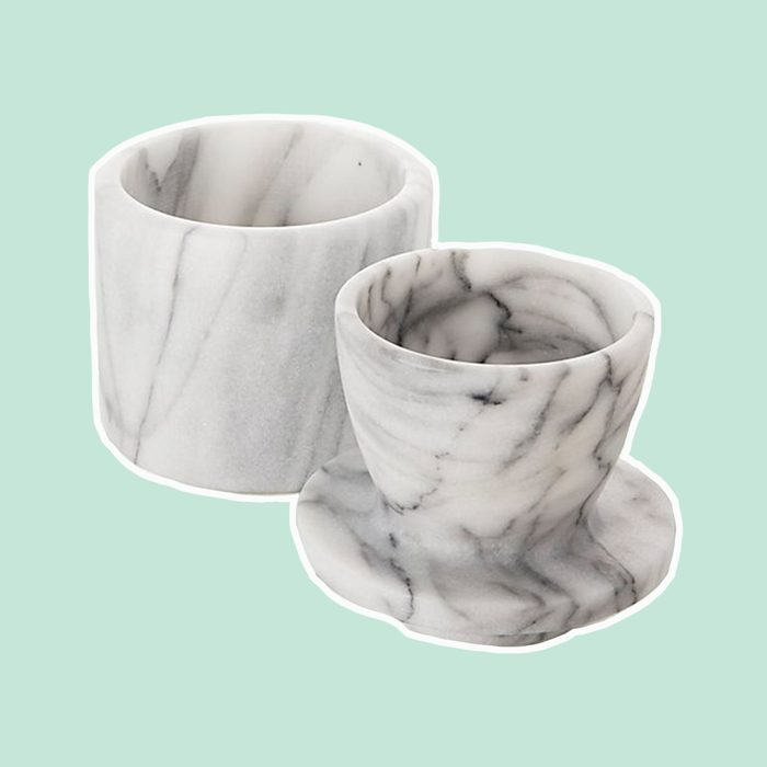 French Kitchen Marble Butter Keeper