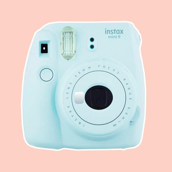 Fujifilm Instax Mini 9 (Ice Blue) Instant Camera with Mini Film Twin Pack