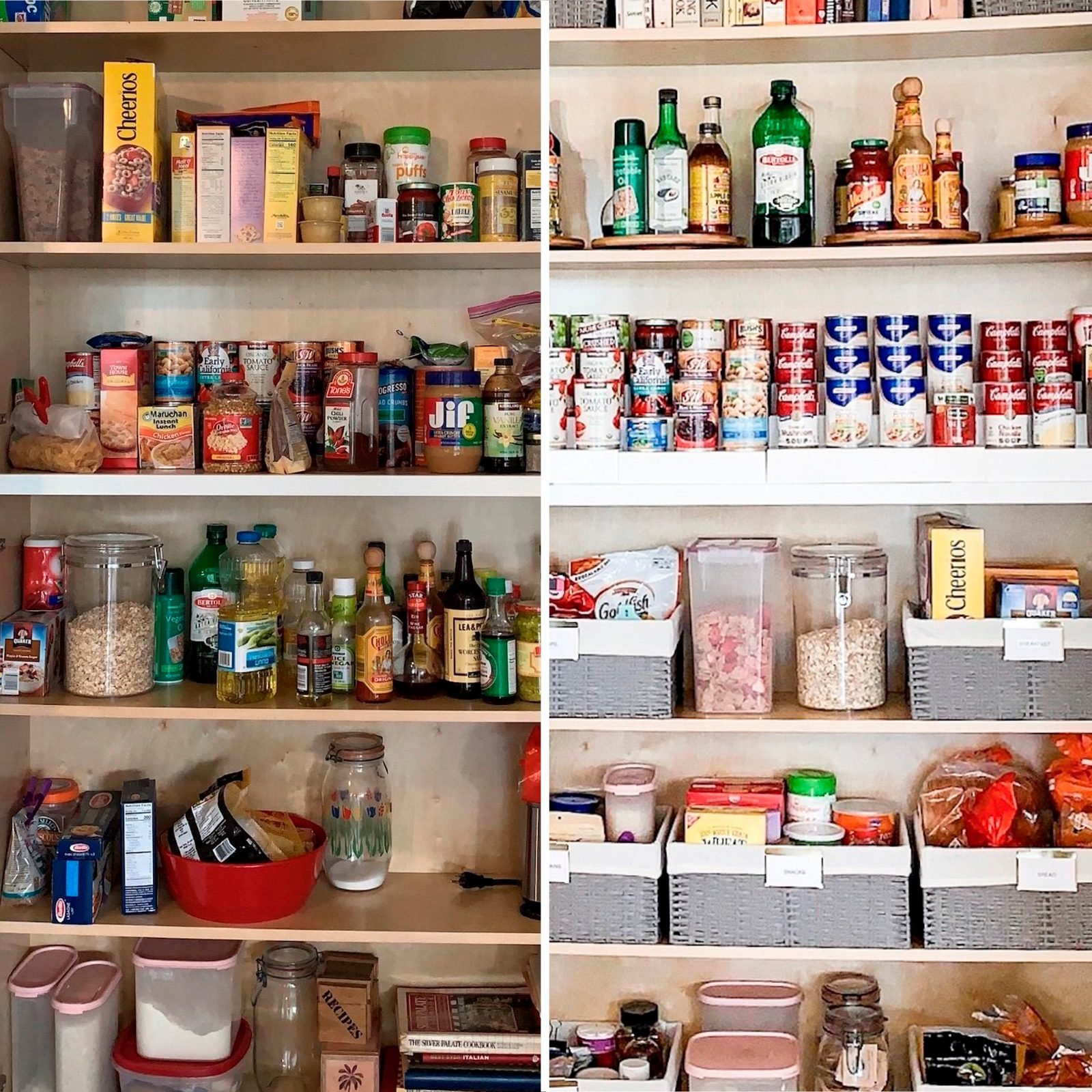 pantry home organization makeover