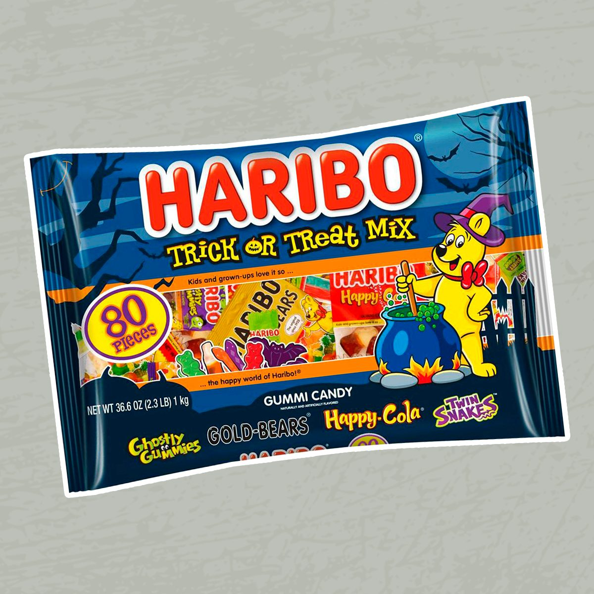 Haribo Halloween Trick or Treat Mix