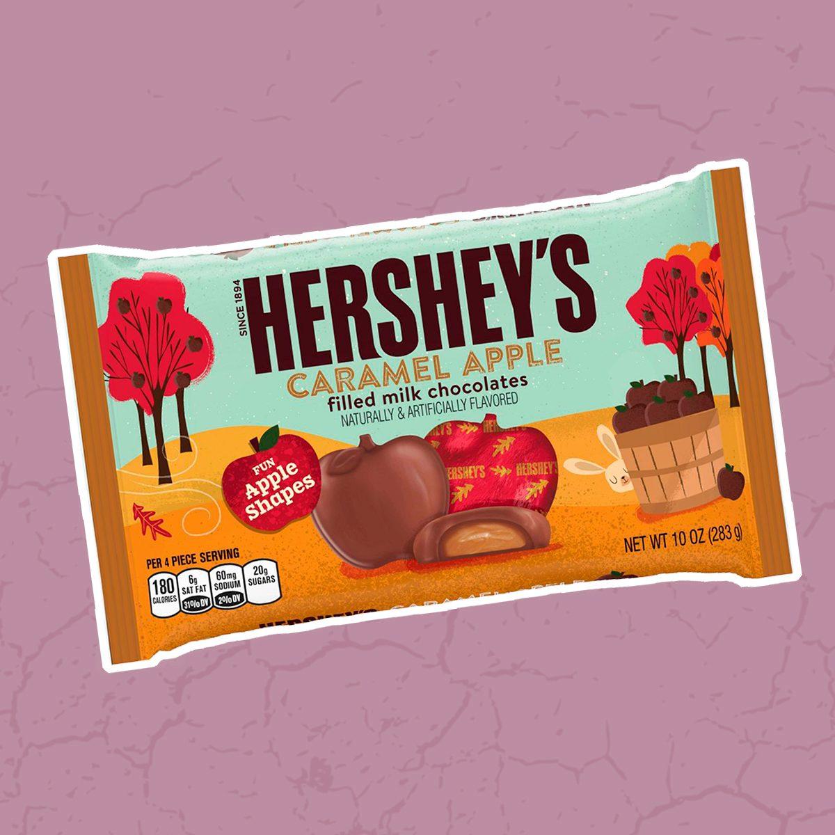 Hershey's Halloween Caramel Filled Apple Chocolates