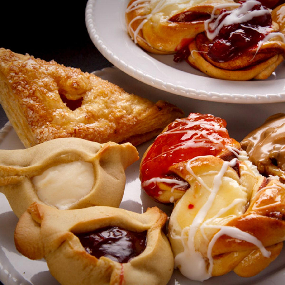 pastries on plates Ingrid's Kitchen, Oklahoma City