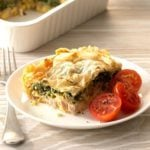 Ham and Spinach Pie