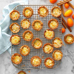 Orange Gingerbread Tassies