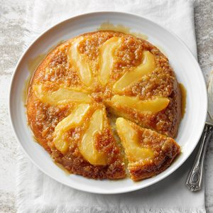 Orange and Pear Upside-Down Cake
