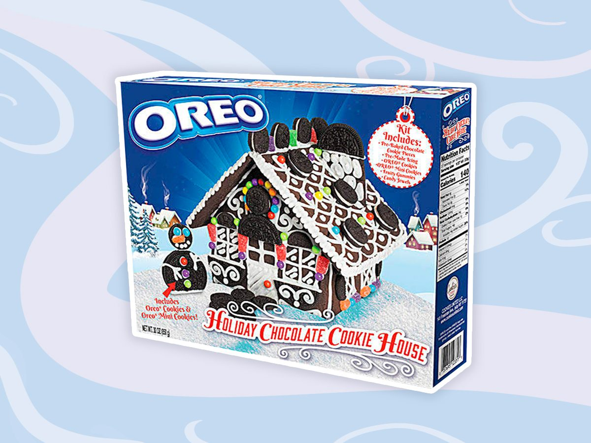 Oreo's holiday cookie house kits