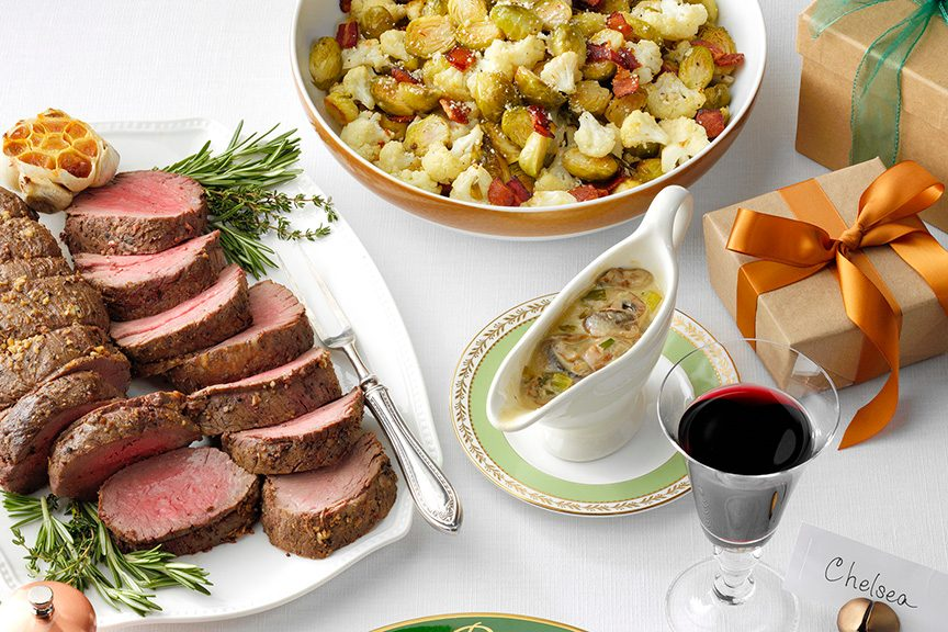 Image result for christmas dinner meal courses