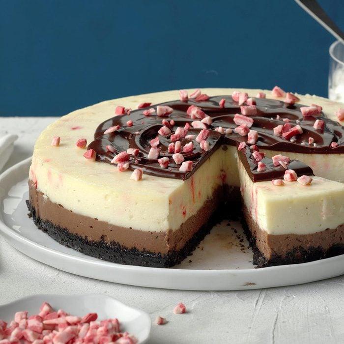 Chocolate Peppermint Cheesecake