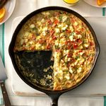 Artichoke and Potato Frittata
