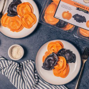 Halloween-Themed Costco Ravioli Is Shaped Like Adorable Bats and Pumpkins