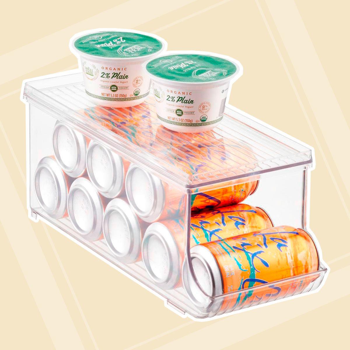 iDesign Soda Can Organizer With Shelf