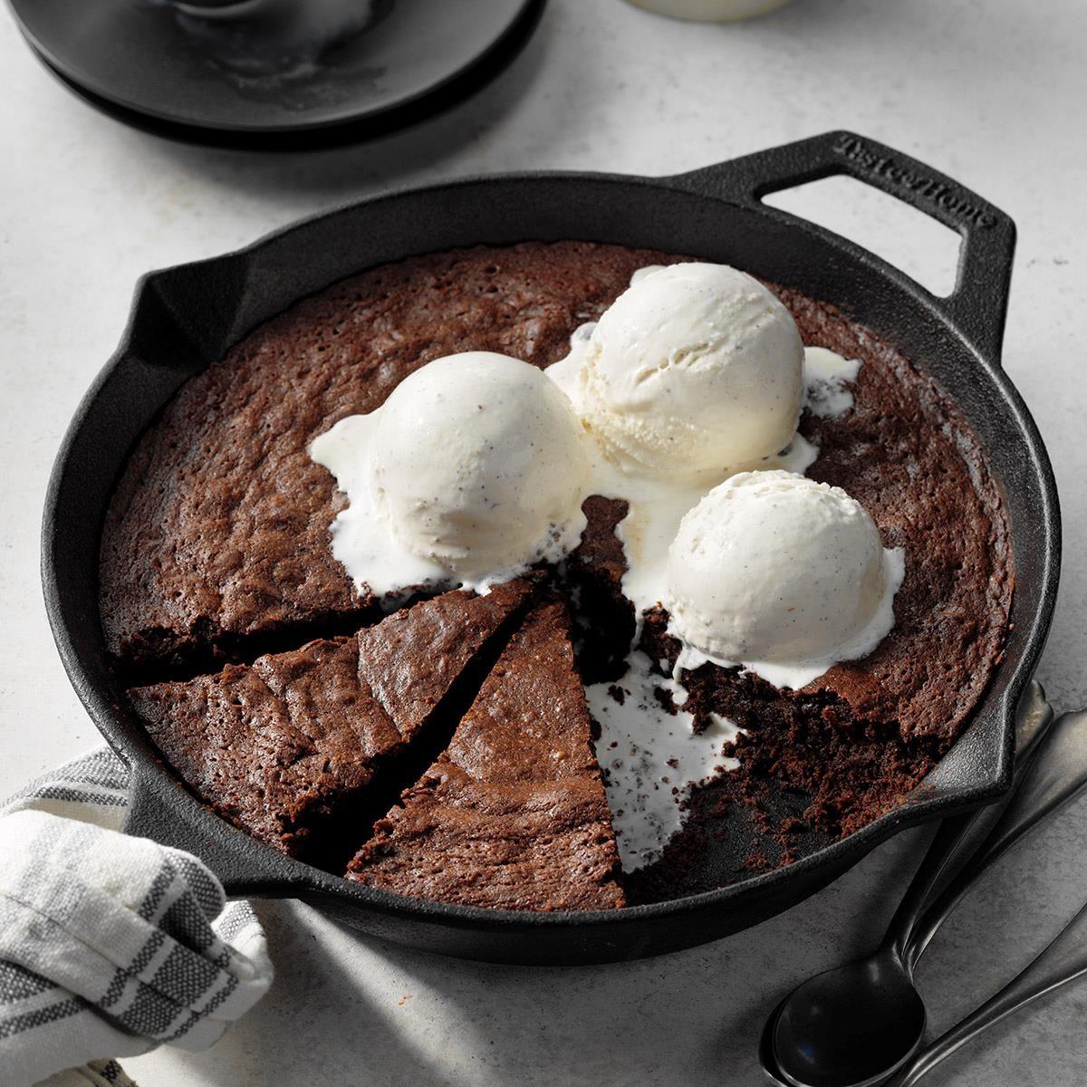 Skillet Stout Brownies