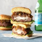 Gourmet Burgers with Sun-Dried Tomato