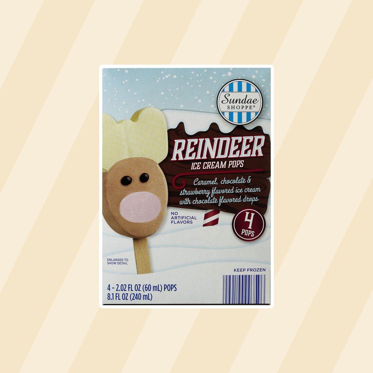Reindeer Ice Cream Pop