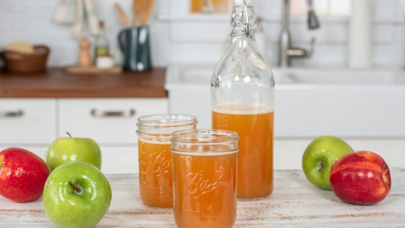 make your own hard apple cider