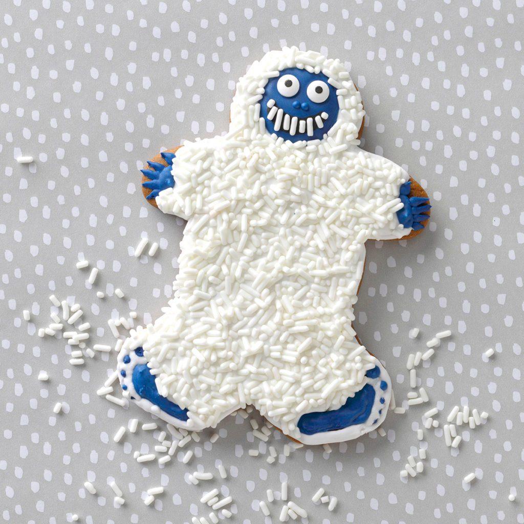 yetti cookie christmas