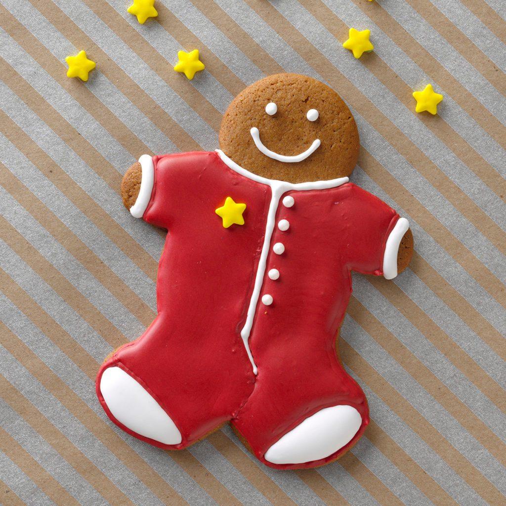pijamas christmas cookie