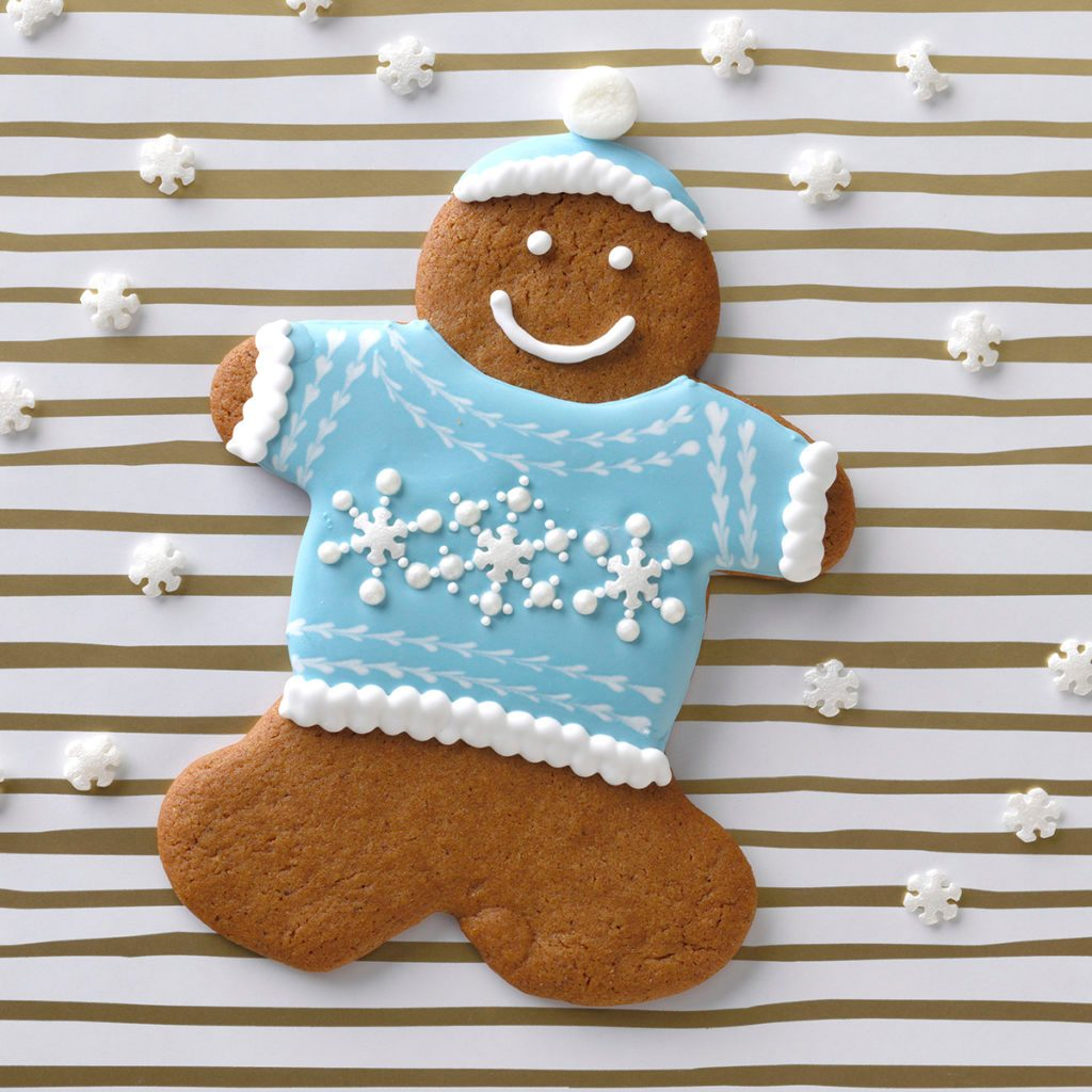 holiday sweater christmas cookie