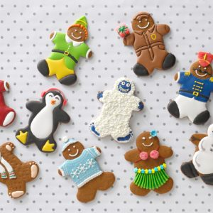 10 Adorable Ways to Decorate Gingerbread Cookies